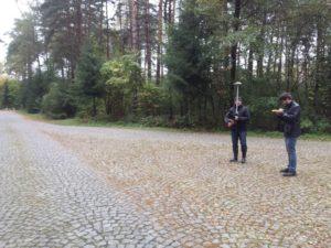 Pomiary GPS Treblinka